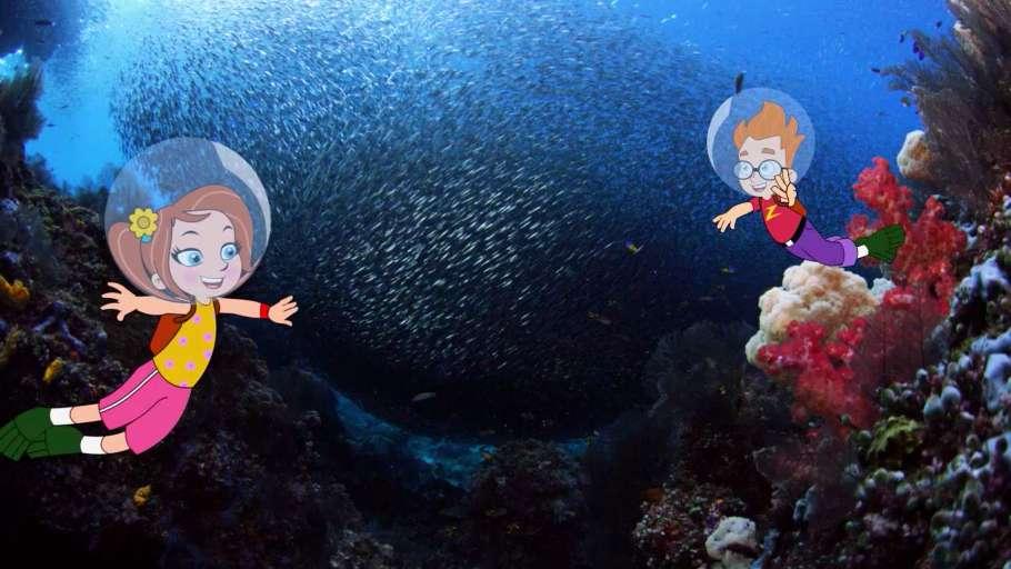 Животные — мои друзья. Подводная миссия