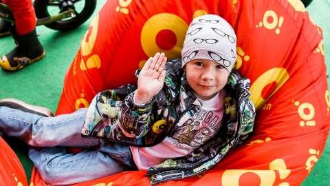 Телеканал «О!» совместно с Первым каналом провёл благотворительную акцию «СТАНЬ ПЕРВЫМ!» в Дубне