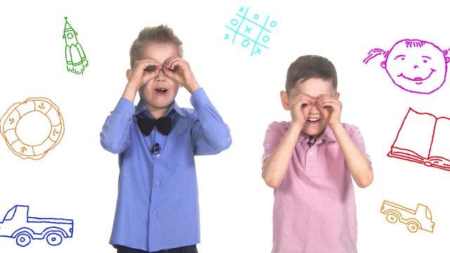 День друзей на телеканале «О!».  Кирилл и Денис объясняют, как понять, что друг настоящий.
