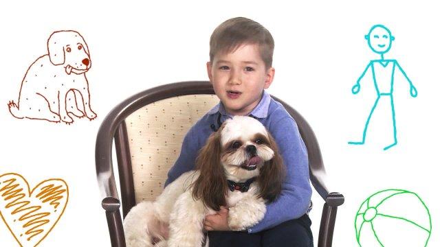 День друзей на телеканале «О!». Саша рассказывает, почему когда человек дружит с собакой - это тоже дружба.