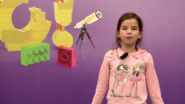 Лиза в телестудии канала «О!» в Дубне