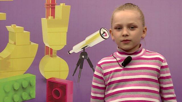 Аня в телестудии канала «О!» в Дубне