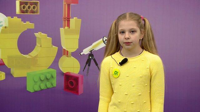 Марьяна в телестудии канала «О!» в Дубне