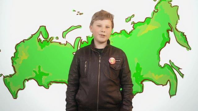 Даниил рассказывает о погоде в телестудии «О!» на фестивале «Политех»