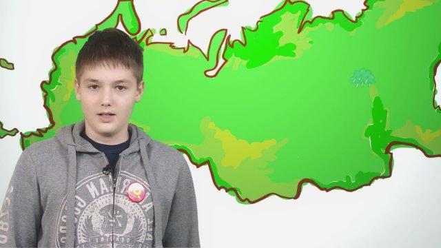 Максим рассказывает о погоде в телестудии «О!» на фестивале «Политех»