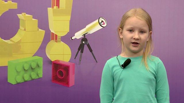 Катя в телестудии канала «О!» в Дубне