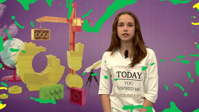 Саша в телестудии канала «О!» в Дубне