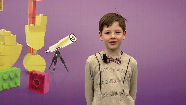 Елисей в телестудии канала «О!» в Дубне