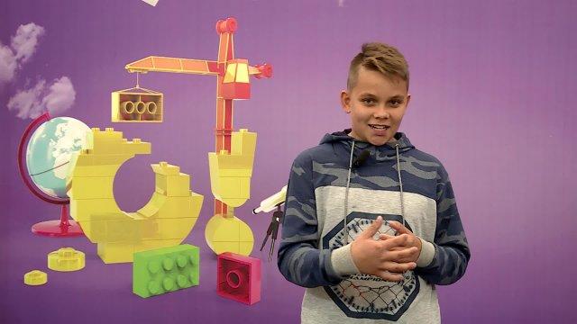 Егор в телестудии канала «О!» в Дубне