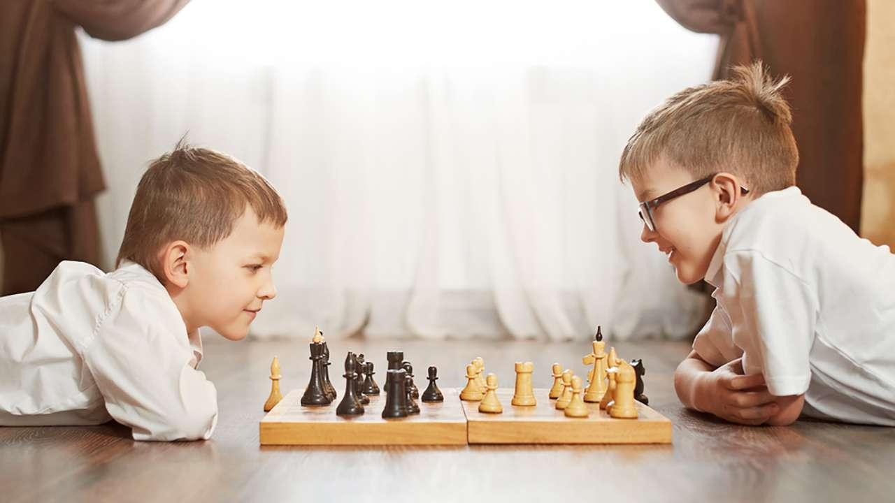 фото дети и шахматы