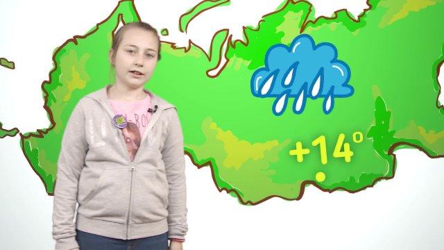 Юля рассказывает о погоде в телестудии «О!» на фестивале «Политех»