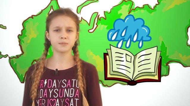Алиса рассказывает о погоде в телестудии «О!» на фестивале «Политех»