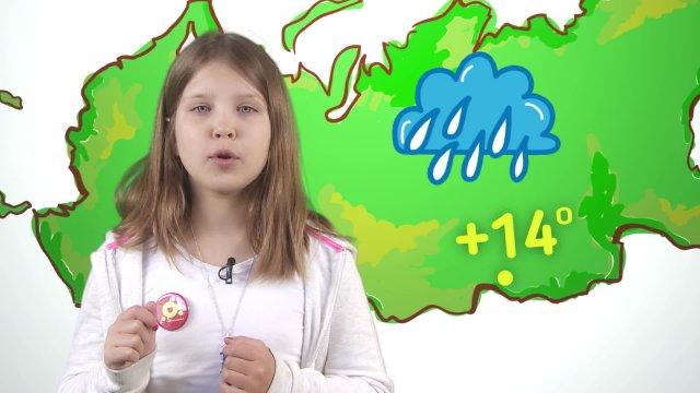 Любовь рассказывает о погоде в телестудии «О!» на фестивале «Политех»