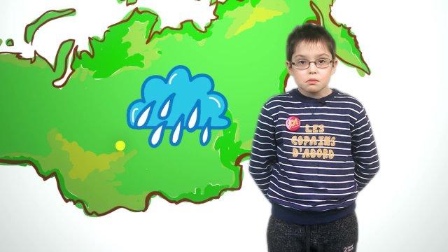 Алексей рассказывает о погоде в телестудии «О!» на фестивале «Политех»