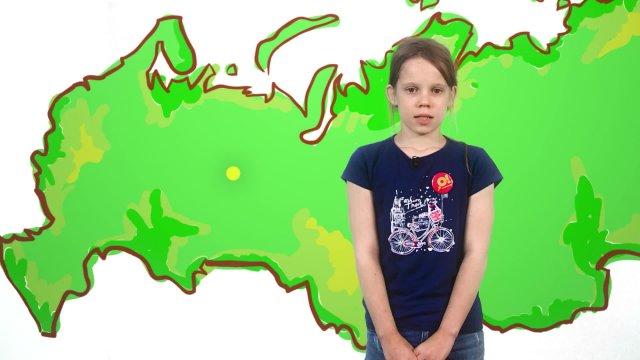 Карина рассказывает о погоде в телестудии «О!» на фестивале «Политех»
