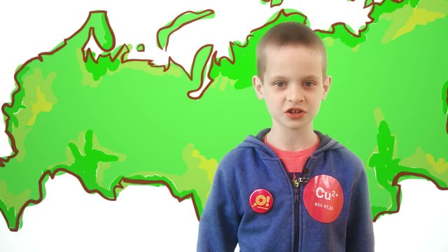 Семён рассказывает о погоде в телестудии «О!» на фестивале «Политех»