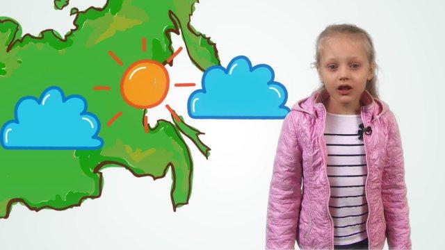 Татьяна рассказывает о погоде в телестудии «О!» на фестивале «Политех»