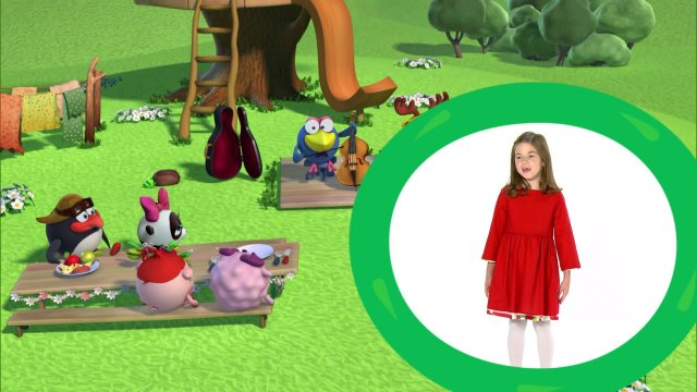 Сабина представляет мультсериал «Смешарики. Новые приключения»