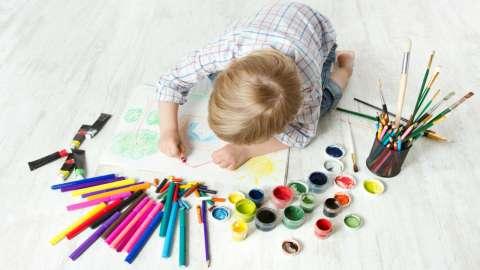 5 видов творчества, которые помогут ребенку пережить стресс