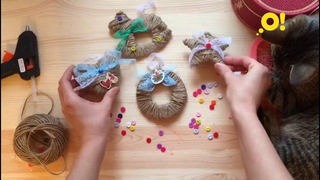 Мастер-класс: игрушки из шпагата