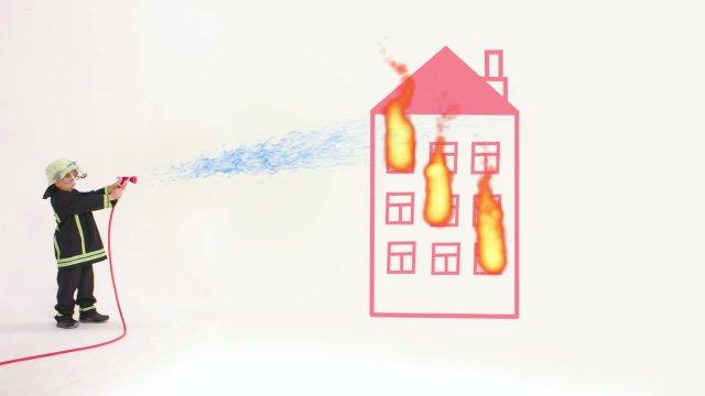 Профессии. Пожарный