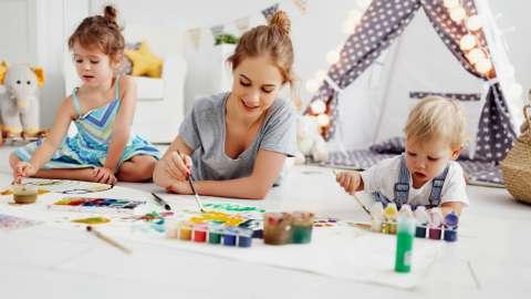 5 техник рисования, которые очень понравятся вашим детям