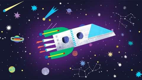 Участвуй в нашем космическом флешмобе и получай призы!