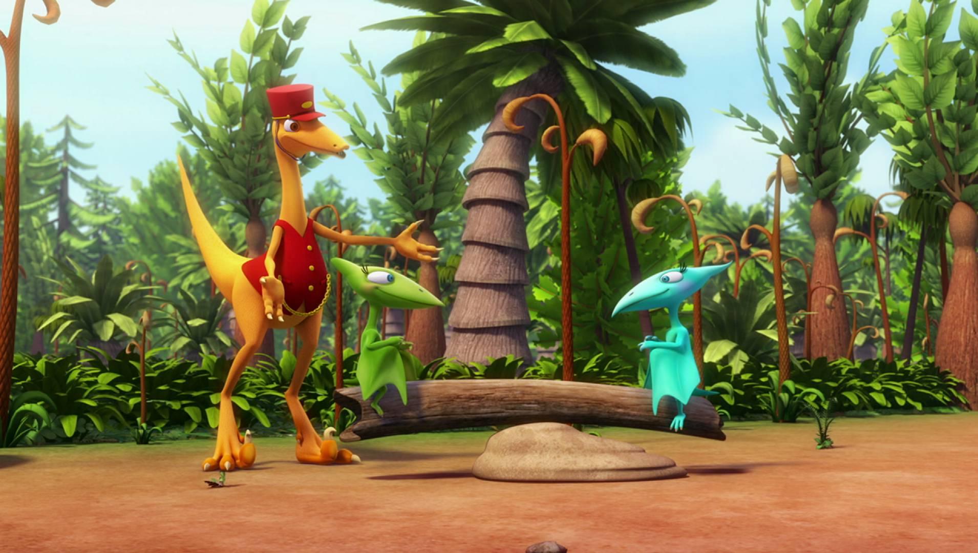 Поезд Динозавров9