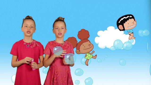 Влада и Арина представляют мультсериал «Лукас и Эмили»