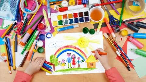 6 советов, как создать ребенку собственную творческую мастерскую