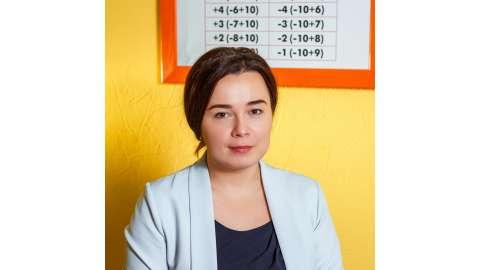 Лидия Леонидовна Александрова, управляющая ФФС ЦРИ «Пифагорка», старший преподаватель по ментальной арифметике, методист, г. Череповец