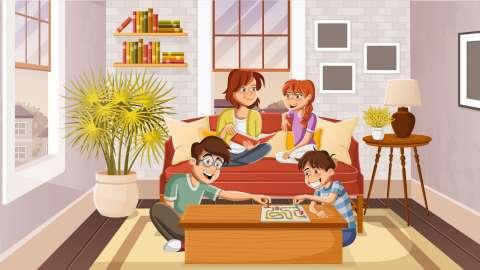 5 классных настольных игр, в которые можно играть всей семьёй