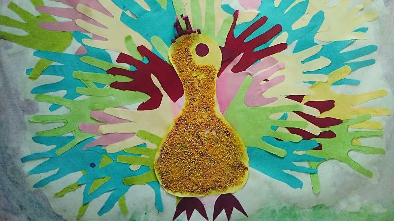 Пример создания «Птицы дружбы»