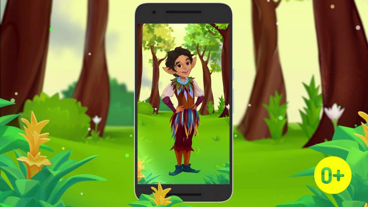 Промо-ролик приложения Magic English
