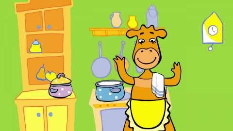 День шарлоток и осенних пирогов: семья Оранжевых коров тоже любит пироги!