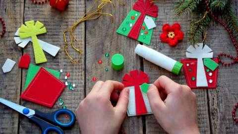 DIY: 5 оригинальных новогодних поделок своими руками