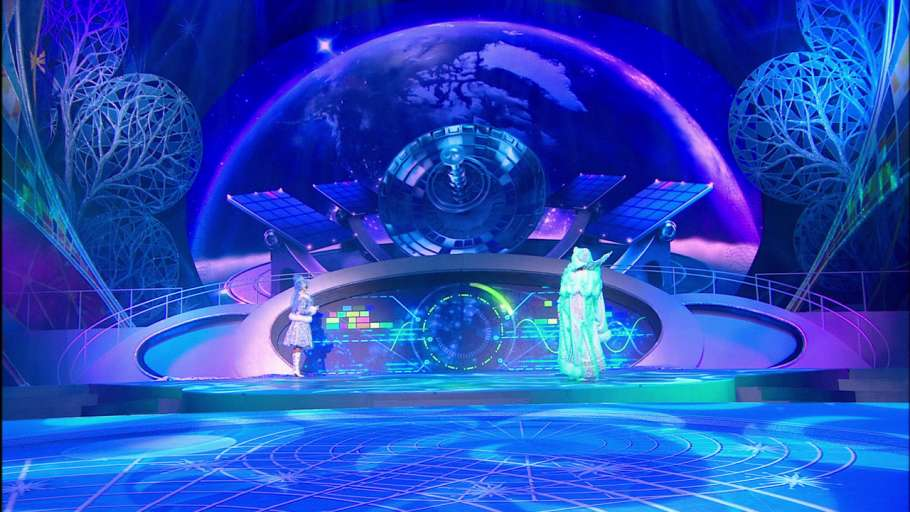 На Главной Ёлке Страны. Новогодняя феерия «Тайна планеты Земля»