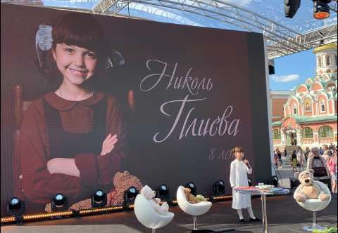 Николь Плиева приняла участие в книжном фестивале «Красная площадь»