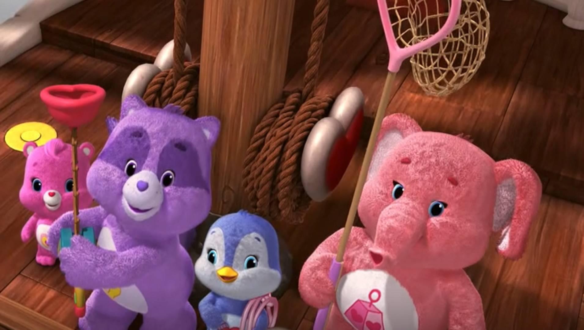 Заботливые мишки. Дружная семья