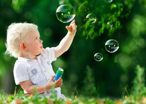 Пускаем пузыри! И развиваем речь