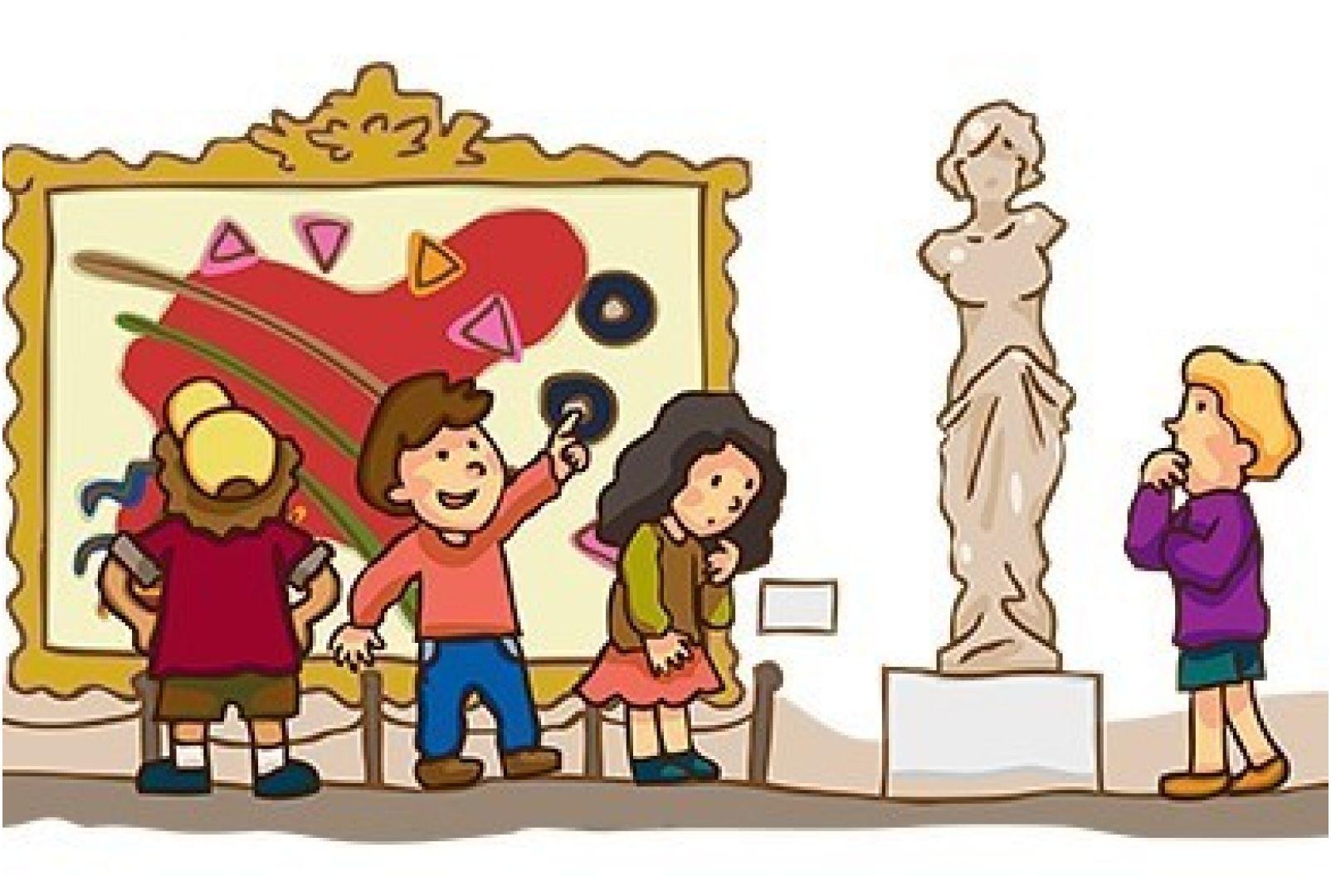 нашей рисунок экскурсия в музей вам идти намеченным