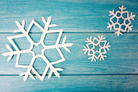 Как сделать снежинку: мастер-класс