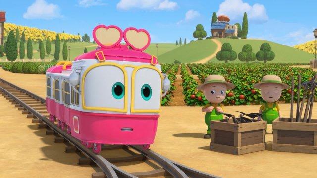 Роботы-поезда. Серия 15