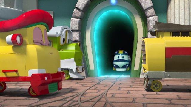Роботы-поезда 17 серия