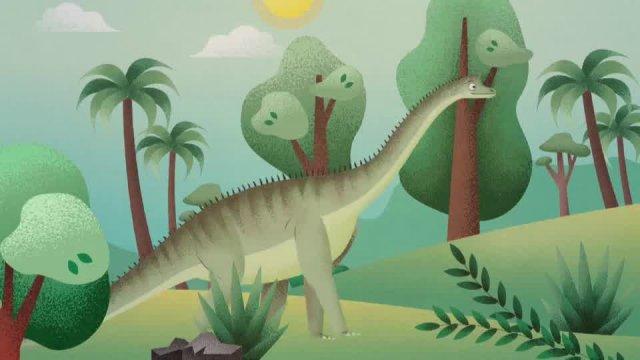 Динозавры. Диплодок