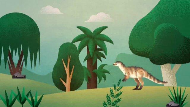 Динозавры. Ориктодромей